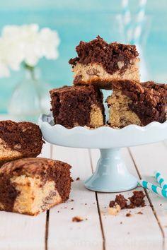 Vanille en Chocolade  Brownies
