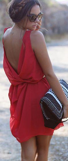 Women's fashion | Elegant spring dress