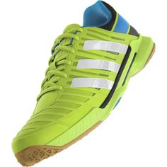 The Adidas Adipower Stabil the newest version of one of my favorite shoes. Squash Shoes, Badminton Shirt, Football Shirts, Adidas Sneakers, Cool, Fitness, Green, Training, Sport