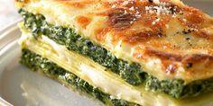 Lasagnes ricotta-épinards