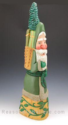 Cypress Knee Santa