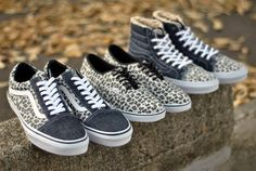 "Vans ""Leopard Series"" - Hi, Old Skool & Authentic Lo Pro - Sneakers. Leopard Vans, Motif Leopard, Man Shoes, Sk8 Hi, Fresh Kicks, Old Skool, Me Too Shoes, Baskets, Fashion Beauty"