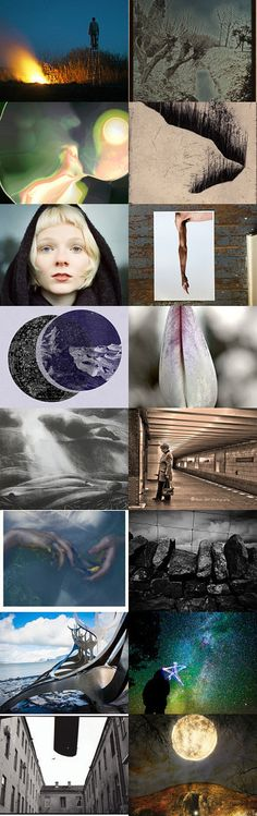 Pause/Turn- spring solstice in the north by Maxwell on Etsy--Pinned+with+TreasuryPin.com