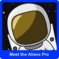Meet the Aliens - for switch, touch-screen, pointing device and eye gaze. http://www.senictsoftware.com/onln/mao.html