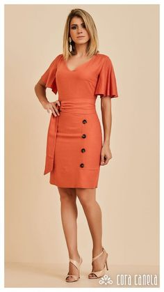 Swans Style is the top online fashion store for women. Shop sexy club dresses, jeans, shoes, bodysuits, skirts and more. Simple Dresses, Cute Dresses, Beautiful Dresses, Casual Dresses, Fashion Dresses, Dress Suits, Shirt Dress, Work Attire, Dress Patterns