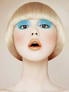 Babyart - Fotos von Model Zhang Xue - Make up Kunstblut Idee Bb Beauty, Beauty Make Up, Hair Beauty, Make Up Looks, Eye Makeup, Hair Makeup, Pelo Editorial, Make Up Art, How To Make