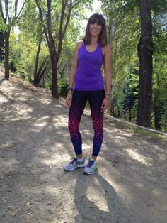 Cristina Mitre con mallas #leopard #bunchsports
