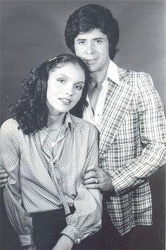 Eluz Peraza y Eduardo Serrano