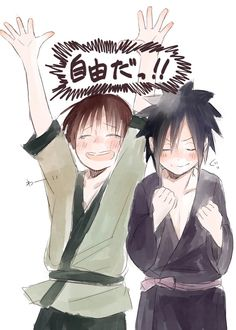 they looked so triumphant Hashirama and Madara Naruto Shippuden, Boruto, Madara And Hashirama, Naruto Boys, One Piece Images, Boku No Hero Academia, Manga, Cute, Anime
