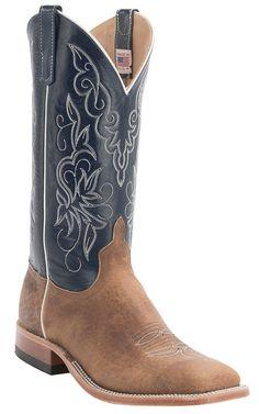 34a09cb0ff4 Western Men s Square Toe Boots