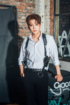 "daehyunsboyfriends: ""Au where Youngjae is a detective/cop Daehyun is the hot villain ; Bap Youngjae, Himchan, Asian Love, Asian Men, Asian Guys, K Pop, Kpop Guys, Woozi, Handsome Boys"