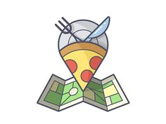 designed by Chris Fernandez. Connect with them on Dribbble; Pizza Project, Food Truck Business, Flat Illustration, Illustrations, Line Icon, Motion Graphics, Icon Design, Symbols, Animation