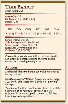 Image result for bandit D&D