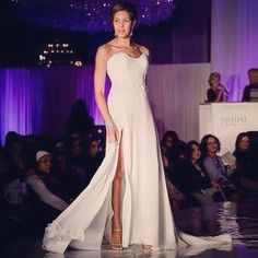 On the Runway in Matthew Christopher!
