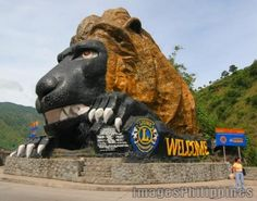 """Lion Landmark in Baguio"" Photographer/Artist: Willy Lorenzana Date Taken: July 2007 Place Taken: Baguio City Baguio Philippines, Philippines Culture, Philippines Travel, Exotic Beaches, Tropical Beaches, Uk Visa, Baguio City, Lion Art, Enjoying The Sun"