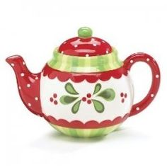 Have a tea-lightful Christmas complete with beautiful Christmas teapots this year. There's nothing like a good cup of cinnamon tea or orange spice...