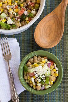 Summertime Bean and Corn Salad