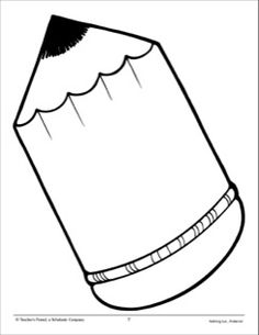 Pencil: Large Pattern