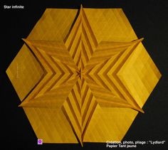 Tessellations & Origami  Never worked w/a diamond grid...this may be the first I'll try