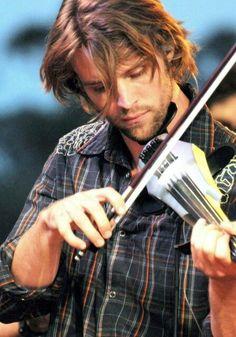 Jesse Spencer with Violin <3