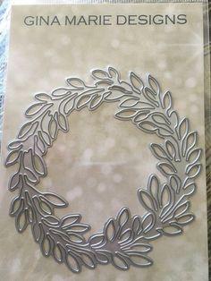 Leaf Wreath Die - GINA MARIE DESIGNS