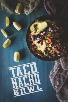 Taco Nacho Bowl \\ GirlCarnivore.com