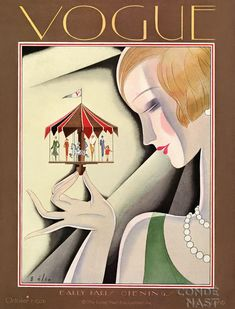 1926 Vintage fashions. Old Vogue Covers #vintage #vogue #covers