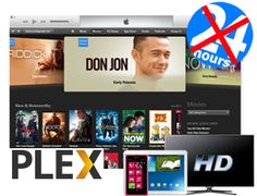 Plex can't play itunes movies, you need to remove DRM before stream itunes movies. Plex Media, Don Jon, Itunes, How To Remove, App, Reading, Music, Articles, Play