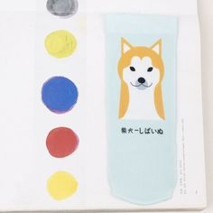 Foot 22-25cm Silk Socks Short Basset Hound Bulldog Spotted Dog Companion Shiba Doggy Pup Animal Pet Bark Cute Soft Puppy Beilika