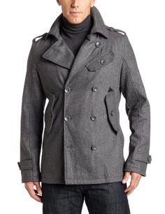 Premium Lounge Men's Peacoat We Wear, How To Wear, Peacoats, Men's Coats, Ken Doll, Men Fashion, Fashion Tips, Sharp Dressed Man, Vest Jacket