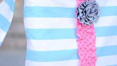 Cute Cross Body Tote Bag - Free Sewing Tutorial