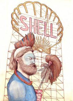 Isabel Albertos Johnston drawing.
