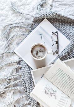 Hot chocolate & books