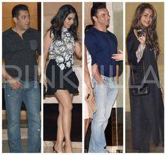 Salman, Sohail, Amrita, Sophie & others attend Arpita-Aayush's anniversary bash!