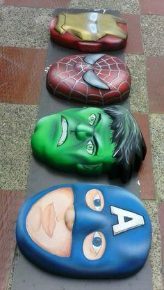 Figuras en icopor porcelanizado the avengers