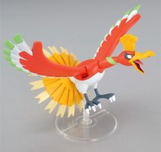 Model Kit Pokemon Ho-Oh Plamo