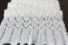 """At last the correct name for this lace pattern! It's Estonian and its name is """"Torni kiri"""". Used in this shawl called """"Happy Katarina"""" (free in Ravelry courtesy of  Olga Jamovidova)"""
