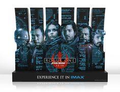 Galaxy Fantasy: Carteles IMAX de Rogue One: A Star Wars Story