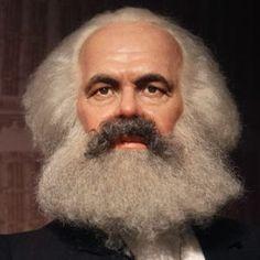 Volto di Karl Marx
