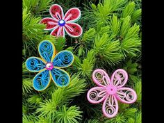 Trupti's Craft: Paper Quilling Flower Tutorial November 19th, April 4th, July 6th, 8th Of March, Paper Quilling Tutorial, All Paper, Flower Tutorial, Easter Eggs, Flowers