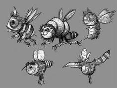 bee character design