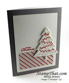 Peaceful Pines Christmas Card