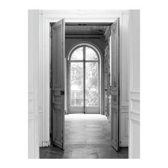 Maison Margiela Home Trompe-l'oeil Open Door Sticker (¥65,980) ❤ liked on Polyvore featuring home, home decor, rooms, art, backgrounds, window, fabric home decor and maison margiela
