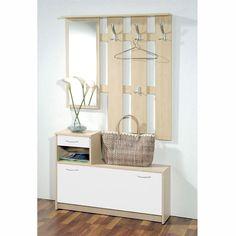 meuble-banc d'entrée en pin, lindley | on, offices and crochet - Meuble Vestiaire Entree Design