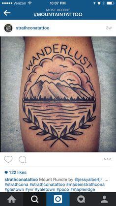 Wanderlust tattoo