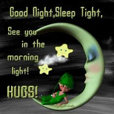 Good Night, Sleep Tight, See you in the morning light! Good Night Lover, Good Night Friends, Good Night Wishes, Good Night Sweet Dreams, Good Night Moon, Good Night Image, Good Morning Good Night, Morning Light, Good Night Messages