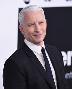 """On CNN Thursday, Anderson Cooper called the President's comments """"racist. Andy Cooper, Cnn Anchors, Anderson Cooper, John Legend, The Dreamers, Eye Candy, Fox, Handsome, Eyes"""