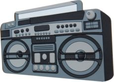 Magnet - Radio Ghettoblaster Boom Box