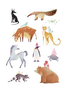 Animals on Behance