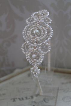 Handmade Diamante Tiara Bridal Headdress Art By Thehandmadetiara GBP14900